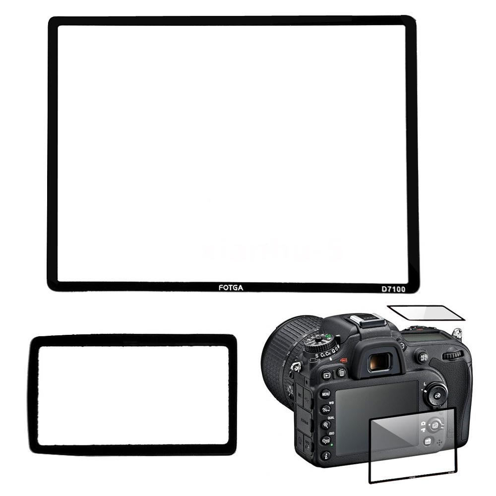 Details about Fotga Professional LCD Optical Glass Screen Protector for Nikon D7100 SLR Camera